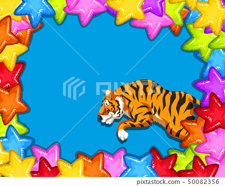 Celebration Card With Tiger 50082356
