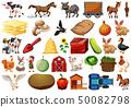 Set of farm element 50082798