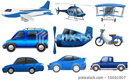 Set of transportation vehicle 50082807