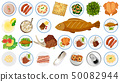 Set of different food 50082944