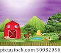 農場 乾草 穀倉 50082956