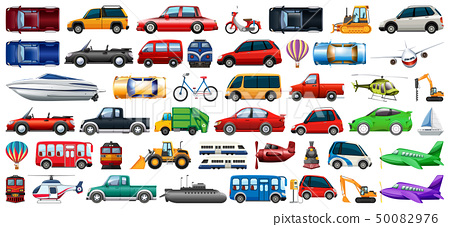 Set of transportation vehicle 50082976