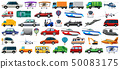 Set of transportation vehicle 50083175