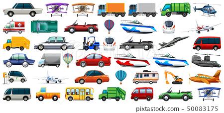 Set of transportation vehicle 50083175