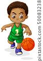 A male basketball player kid 50083238