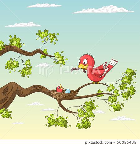Bird And Chick 50085438