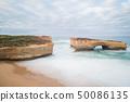The London bridge of Great Ocean Road, Australia. 50086135