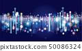 네트워크 가상현실 추상적인 디자인 50086324