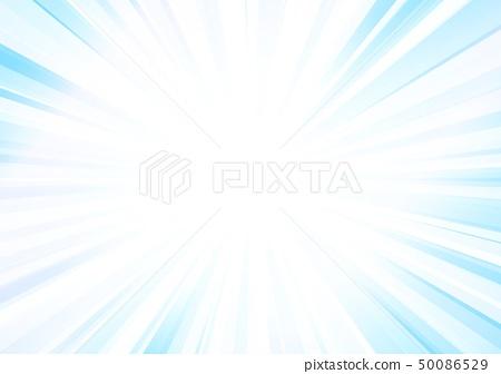 하늘색 방사선 배경 50086529
