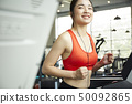 女子体育健身房 50092865