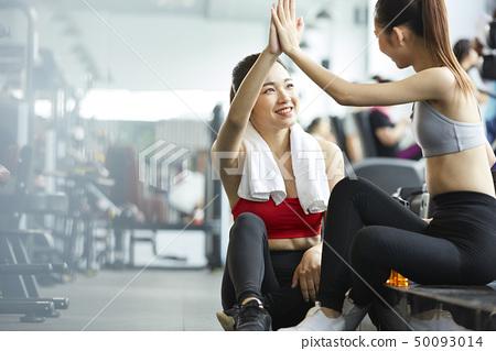 女性健身健身房 50093014