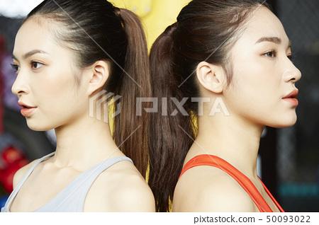 女性健身健身房 50093022