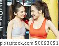 女性健身健身房 50093051