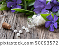 A bottle of vinca minor homeopathic remedy 50093572