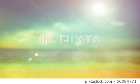 背景 - 熱帶 - 海 - 天 - 海灘 50094771