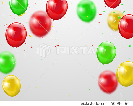 Festa junina colorful balloons, 50096366