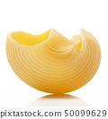 italian pasta on white background 50099629
