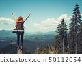 girl, hiker, mountain 50112054