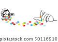 마블 초콜릿과 화려한 매니큐어 50116910