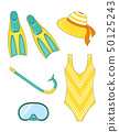 set of snorkeling elements 50125243