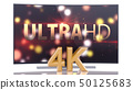 UltraHD Smart Tv with Curved Screen on White 50125683