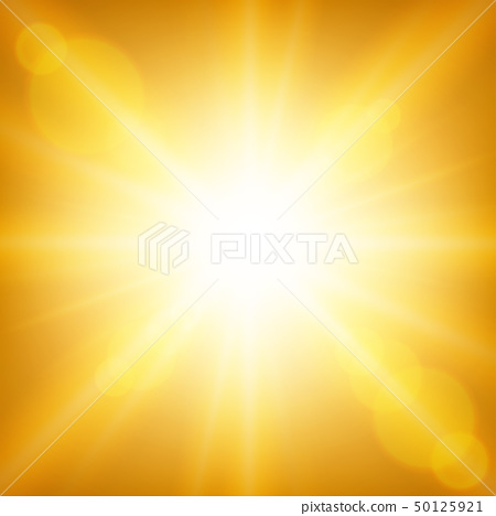 Background template with bright yellow light 50125921