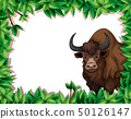 A yak on nature frame 50126147