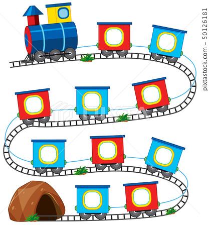 A train game template 50126181