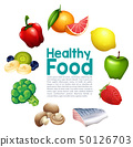 A healthy food template 50126703
