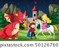 A fantasy fairy tale story scene 50126760