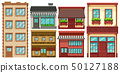 Different designs of buildings 50127188