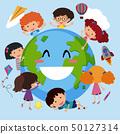 Happy children around the world 50127314