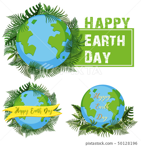 Logo design for happy earth day 50128196