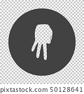 Baseball catcher gesture icon 50128641