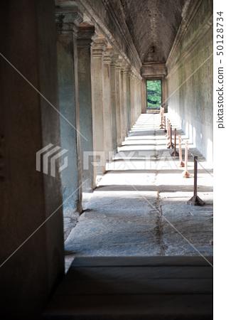 Corridor in Angkor wat, Cambodia 50128734