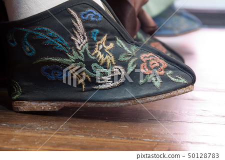 Embroidered shoes 50128783