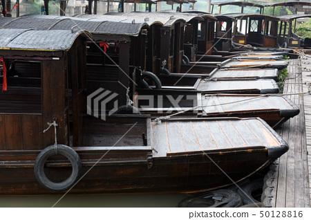 China wupeng boats in the river 50128816