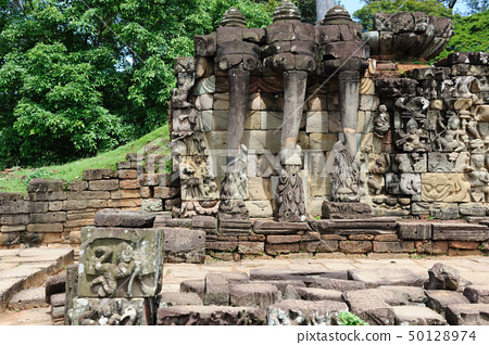 Terrace of the Elephants, Angkor Thom, Cambodia 50128974