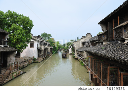 China ancient village 50129528