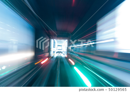 Subway tunnel 50129565