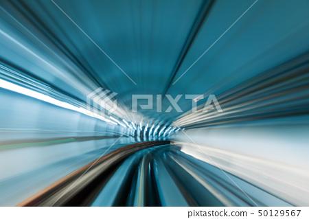 Subway tunnel 50129567
