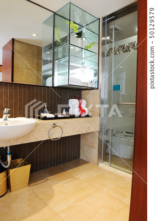 Luxury hotel toilet 50129579