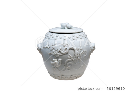 Chinese antique - Covered jar 50129610