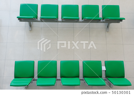 Chairs in departure hall 50130301