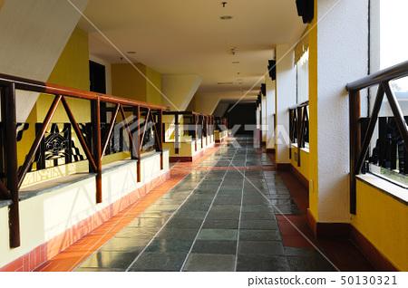 Hotel hallway 50130321