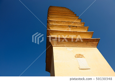 Ancient Chinese Buddhist pagoda 50130348
