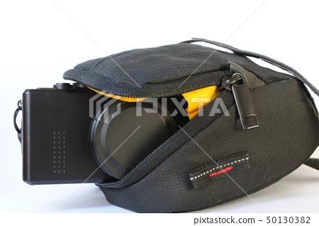 Compact digital camera in bag 50130382