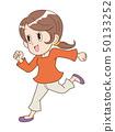 跑跳女人 50133252