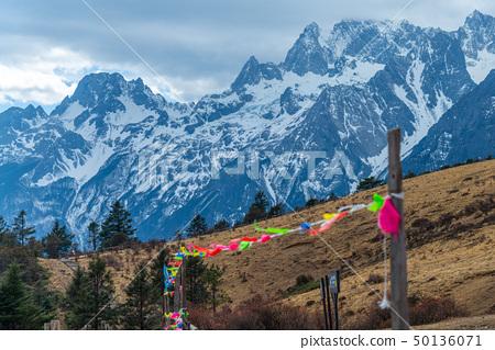 中國麗江玉龍雪山 中国観光スポット China Jade Dragon Snow Mountain 50136071
