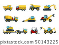 Truck, bulldozer, mixer, roller, dumper, excavator 50143225